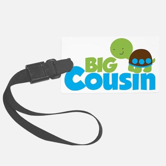 Boy Turtle Big Cousin Luggage Tag