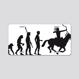 Evolution Indianer Aluminum License Plate