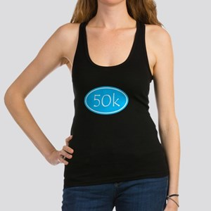 Sky Blue 50k Oval Racerback Tank Top