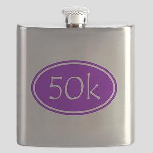 Purple 50k Oval Flask