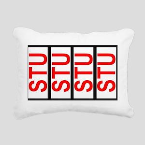 STU SCCA Solo Class Plat Rectangular Canvas Pillow