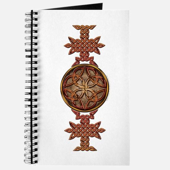 Celtic Knotwork Enamel Journal