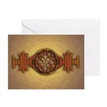 Celtic Knotwork Enamel Greeting Cards (Pk of 10)
