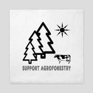 Support Agroforestry Queen Duvet