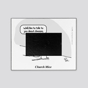 Church Mice tee Picture Frame