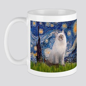 Starry Night Ragdoll Mug