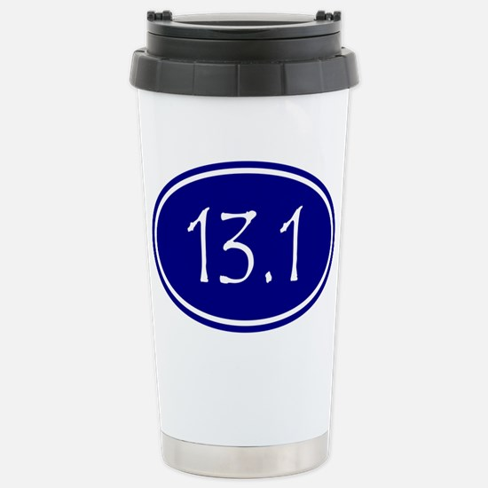 Blue 13.1 Oval Travel Mug