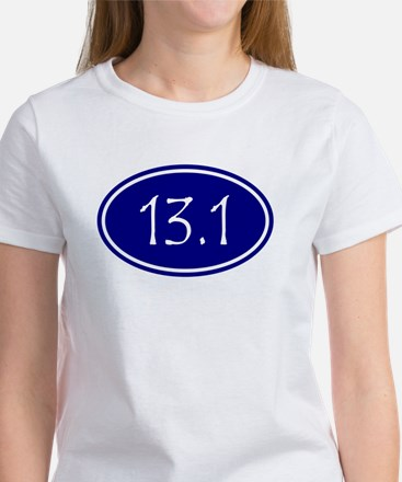 Blue 13.1 Oval T-Shirt