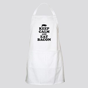 Keep Calm Eat Bacon Apron