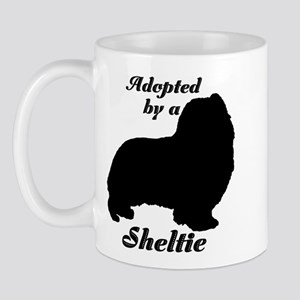 ADOPTED by Sheltie Mug