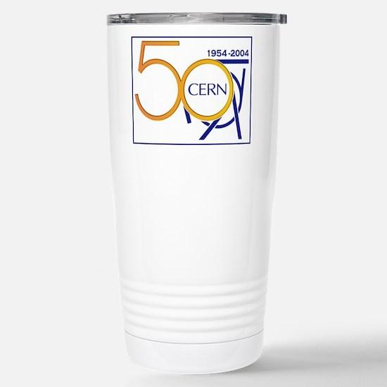 CERN @ 50! Stainless Steel Travel Mug