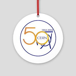 CERN @ 50! Ornament (Round)