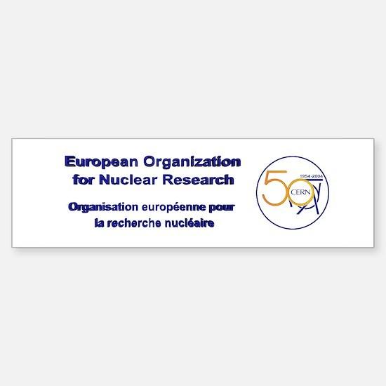 CERN @ 50! Sticker (Bumper)