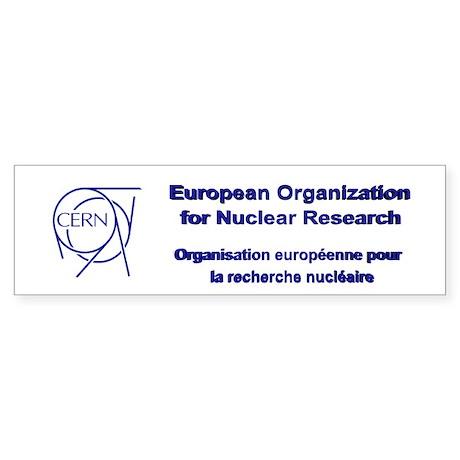 CERN Sticker (Bumper)