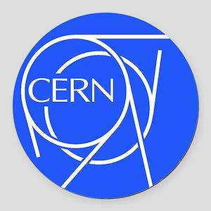 CERN Round Car Magnet