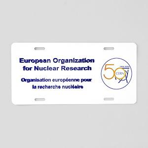 CERN @ 50! Aluminum License Plate