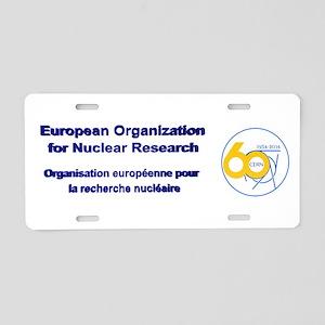CERN Turns 60!! Aluminum License Plate