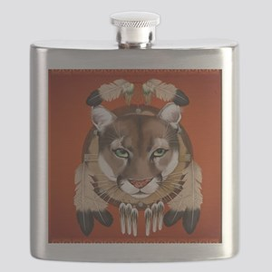 Queen Duvet Cougar Shield Flask