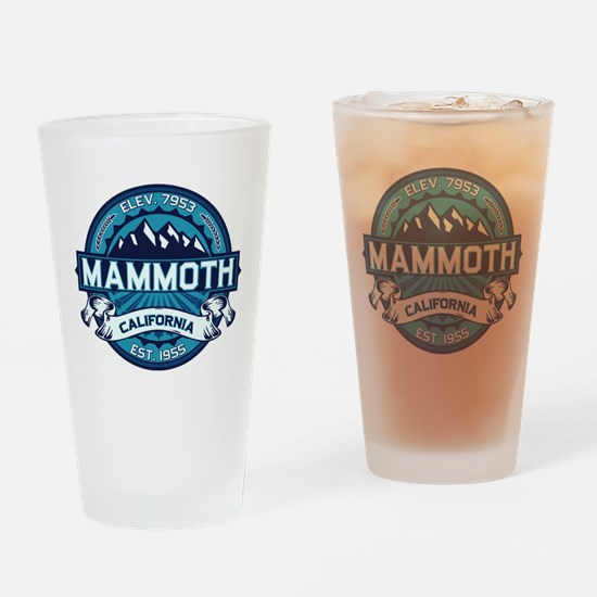 Mammoth Ice Drinking Glass
