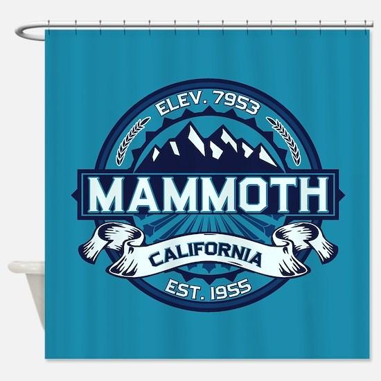 Mammoth Ice Shower Curtain
