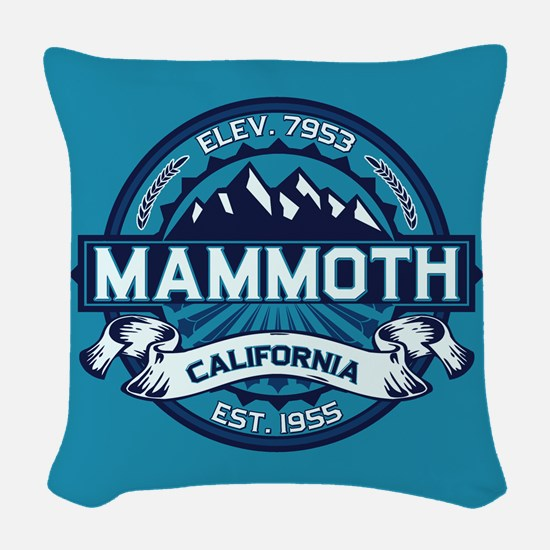 Mammoth Ice Woven Throw Pillow