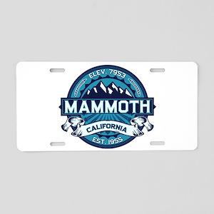 Mammoth Ice Aluminum License Plate