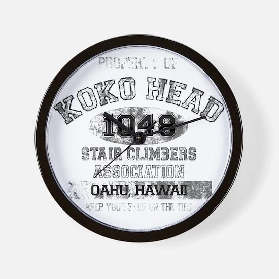Property of Koko Head Stair Climbers As Wall Clock