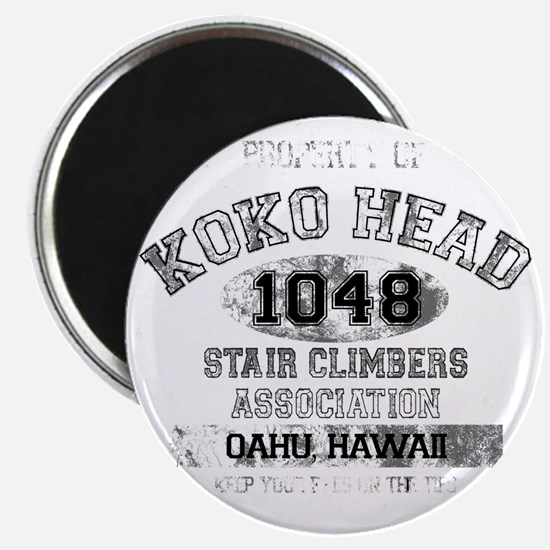 Property of Koko Head Stair Climbers Associ Magnet