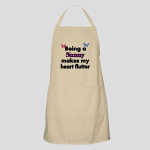 Being a Nanny makes my Heart Flutter Apron