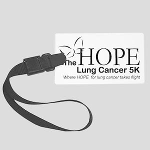 Hope Logo Large Luggage Tag