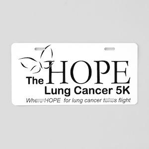Hope Logo Aluminum License Plate