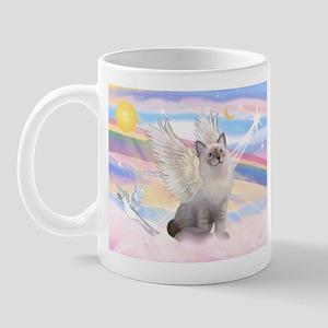 Ragdoll (#1) cat Angel Mug