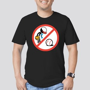 No Crying in Baseball Men's Fitted T-Shirt (dark)