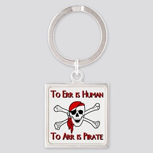 Pirate Square Keychain