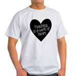 Teacher Heart Light T-Shirt
