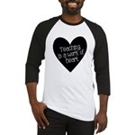Teacher Heart Baseball Jersey
