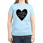 Teacher Heart Women's Light T-Shirt