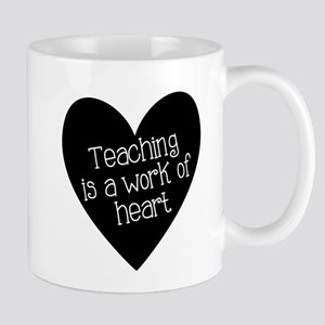 Teacher Heart Mug
