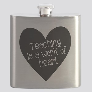 Teacher Heart Flask