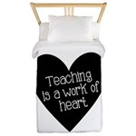 Teacher Heart Twin Duvet