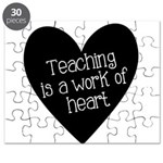Teacher Heart Puzzle
