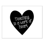 Teacher Heart Small Poster
