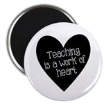 Teacher Heart Magnet
