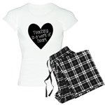 Teacher Heart Women's Light Pajamas