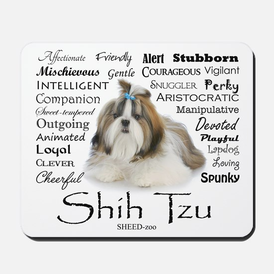 Shih Tzu Traits Mousepad