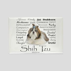 Shih Tzu Traits Magnets