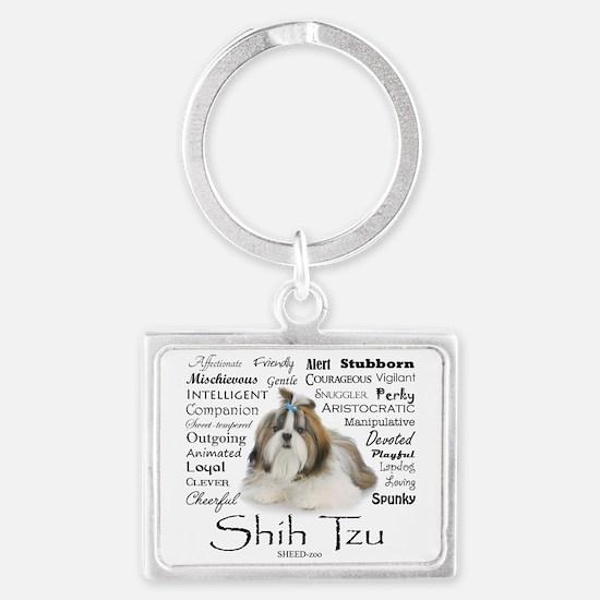 Shih Tzu Traits Keychains