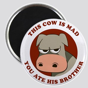 Angry Cow Magnet
