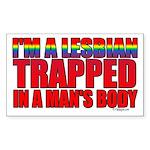 I'm a lesbian trapped in a man's body