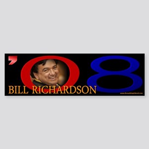 Bill Richardson Signature Bumper Sticker